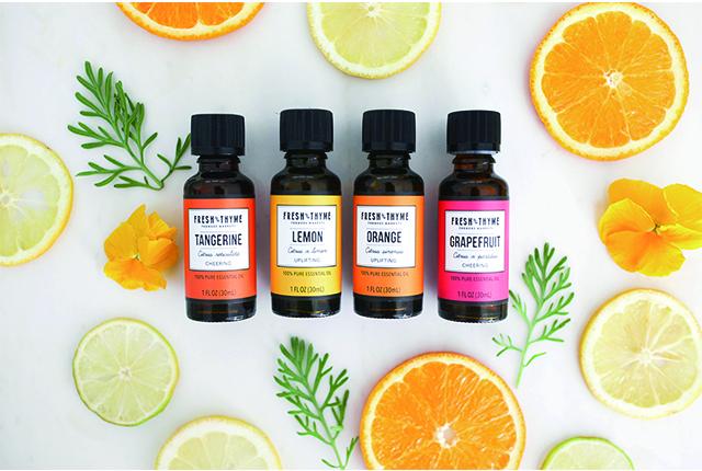 Fresh Thyme의 Essential Oil 디자인