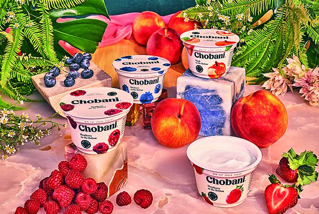 New Look, Same Yogurt 초바니의 패키징 리디자인
