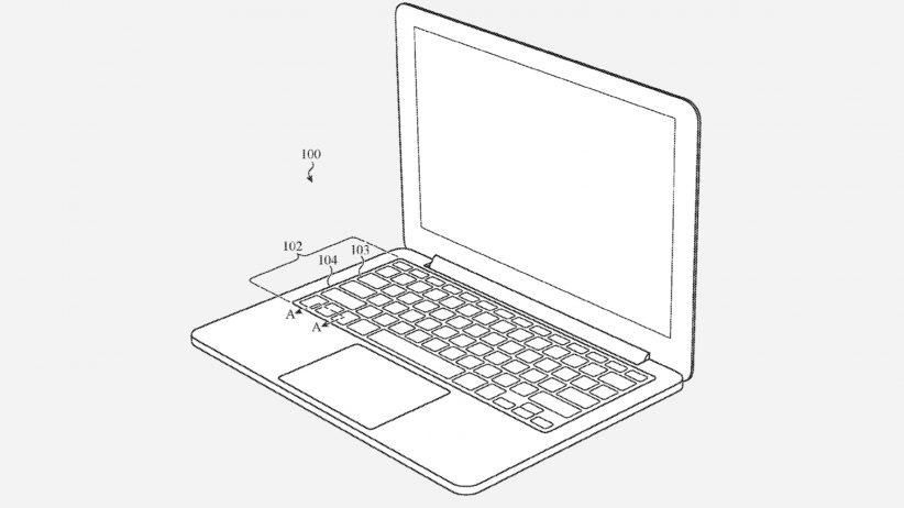 애플 오염방지 키보드 특허출원