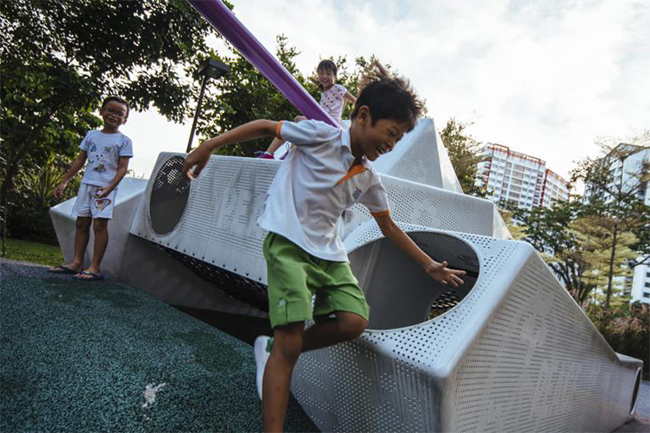 지역 특성을 반영하는 싱가포르의 차세대 놀이터