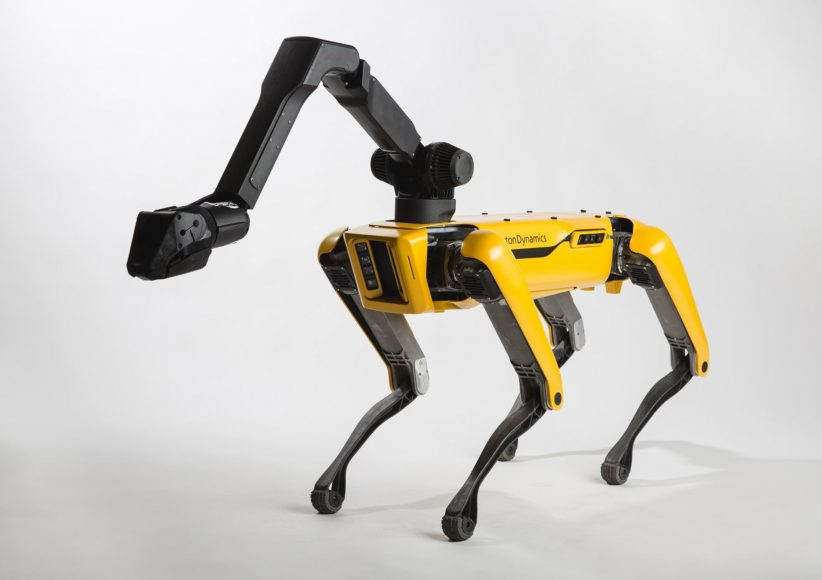 보스턴 다이나믹스, 스팟미니 로봇 내년부터 판매예정