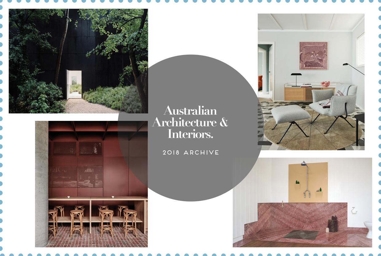 Australia Architecture & Interior 2018 Archive by Yellowtrace
