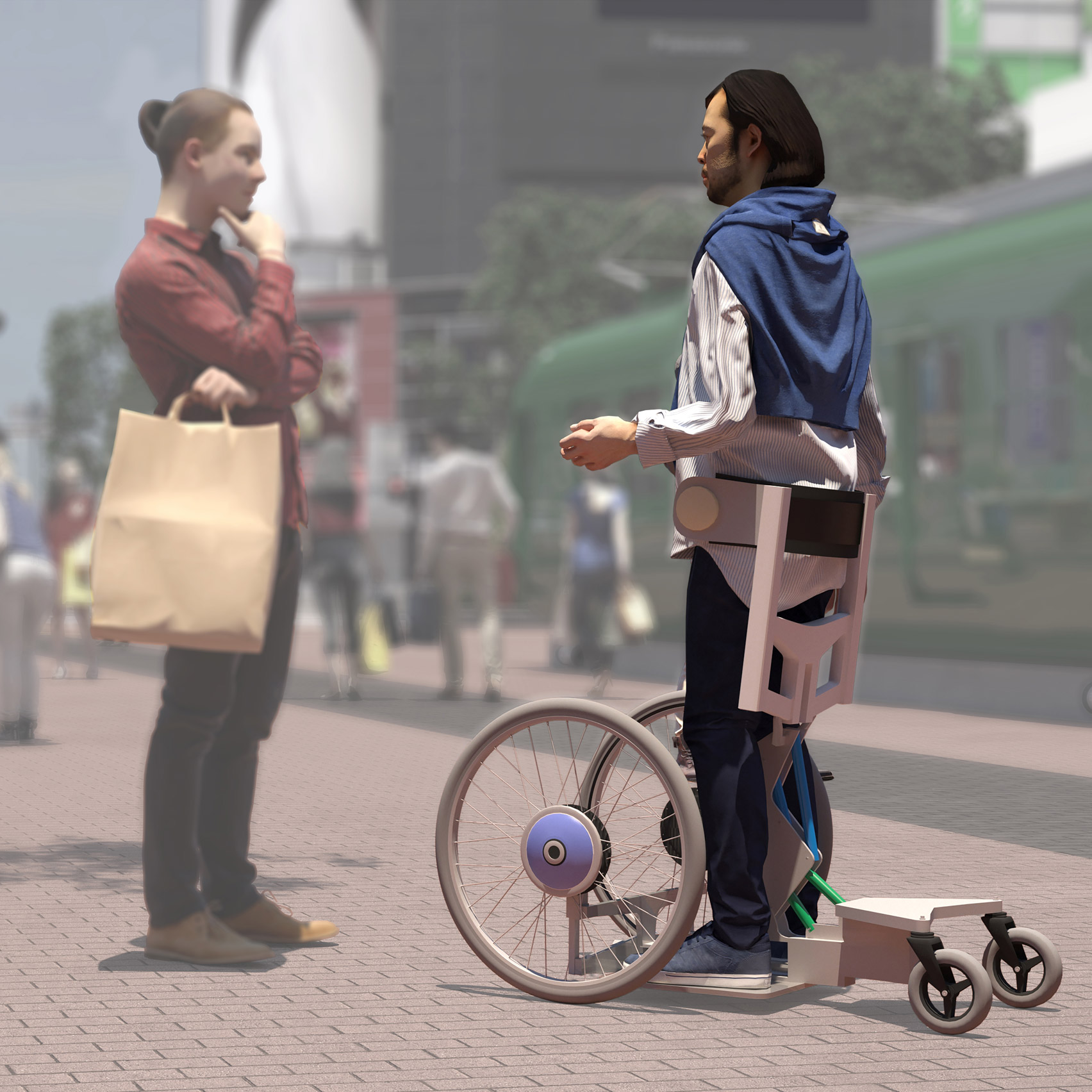 장애인을 위한 최첨단 모빌리티 기기 제안