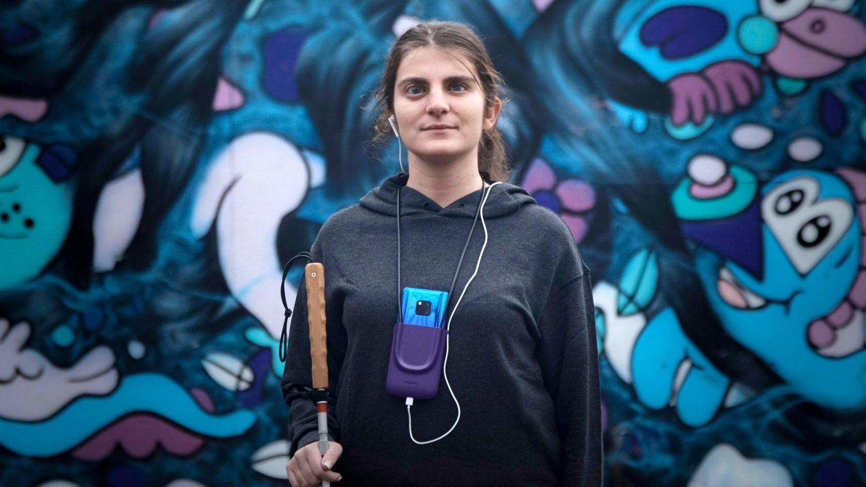 화웨이, 얼굴표정을 소리로 바꿔주는 시각장애인용 앱 개발