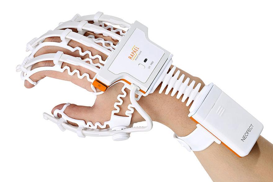 산업디자인에 게임디자인 접목한 재활치료 장비, 라파엘 스마트글러브