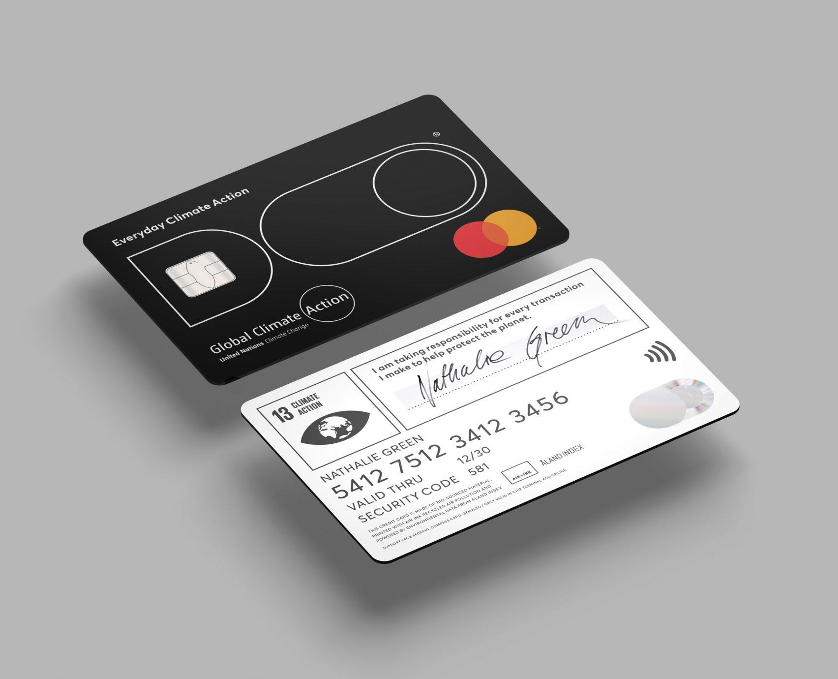 탄소배출 소비 상한선정하는 신용카드, DO 블랙