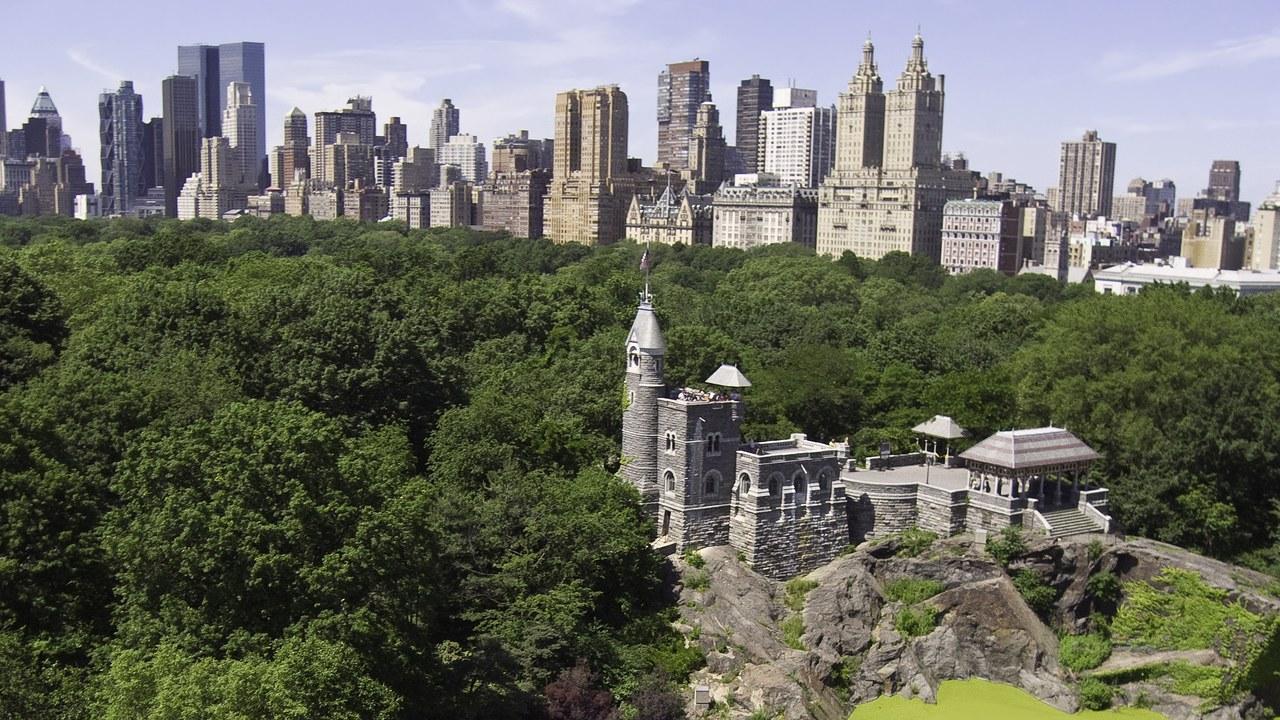 Central Park의 Belvedere Castle 복원 프로젝트