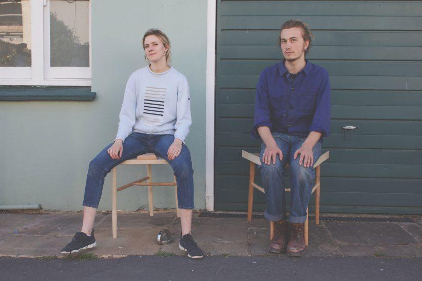 '쩍벌남을 위한 해법' 의자