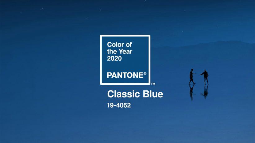 2020년 판톤 올해의 색은 클래식 블루