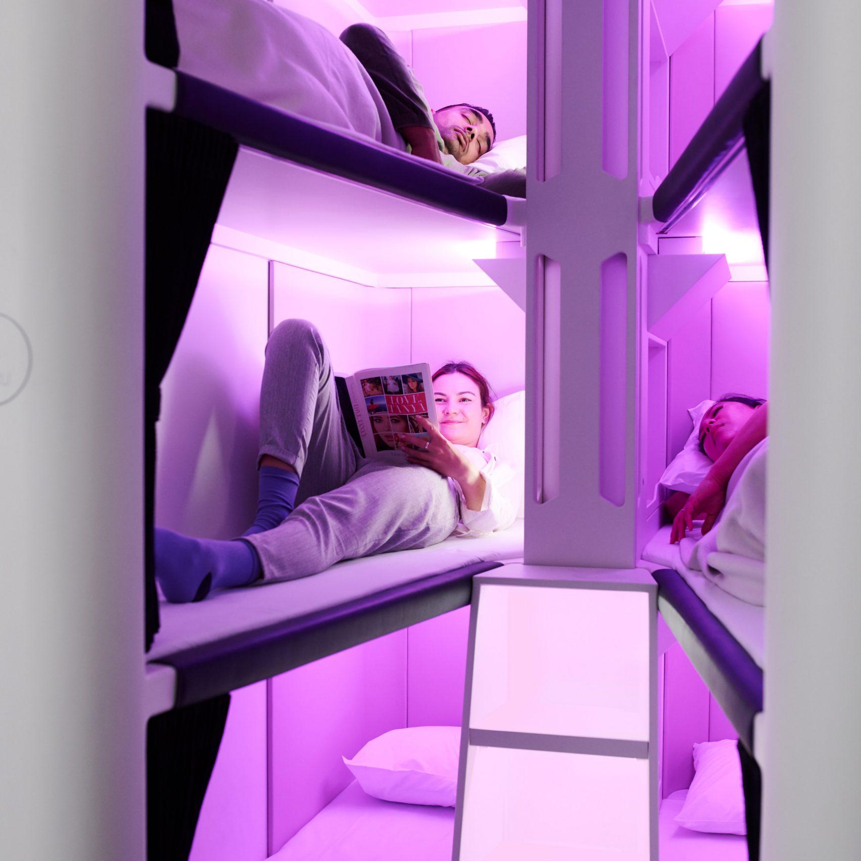 에어뉴질랜드, 이코노미승객위한 수면실 개발