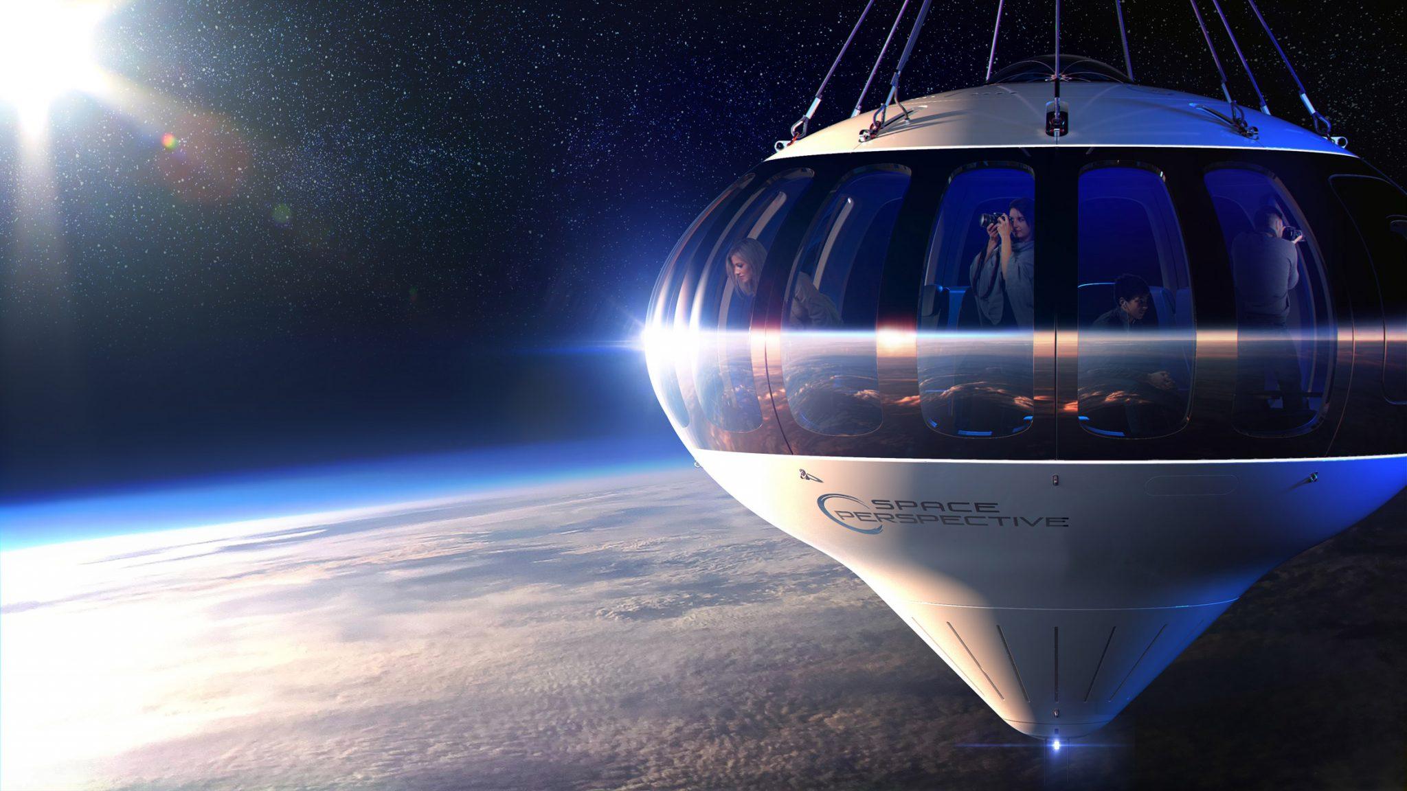 프리스트만구드, 성층권 유람하는 풍선비행선 디자인