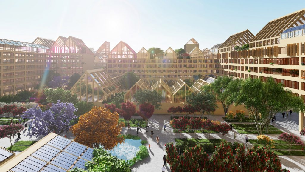 자급자족도시 꿈꾸는 중국 슝안신지구 포스트코로나 주택단지