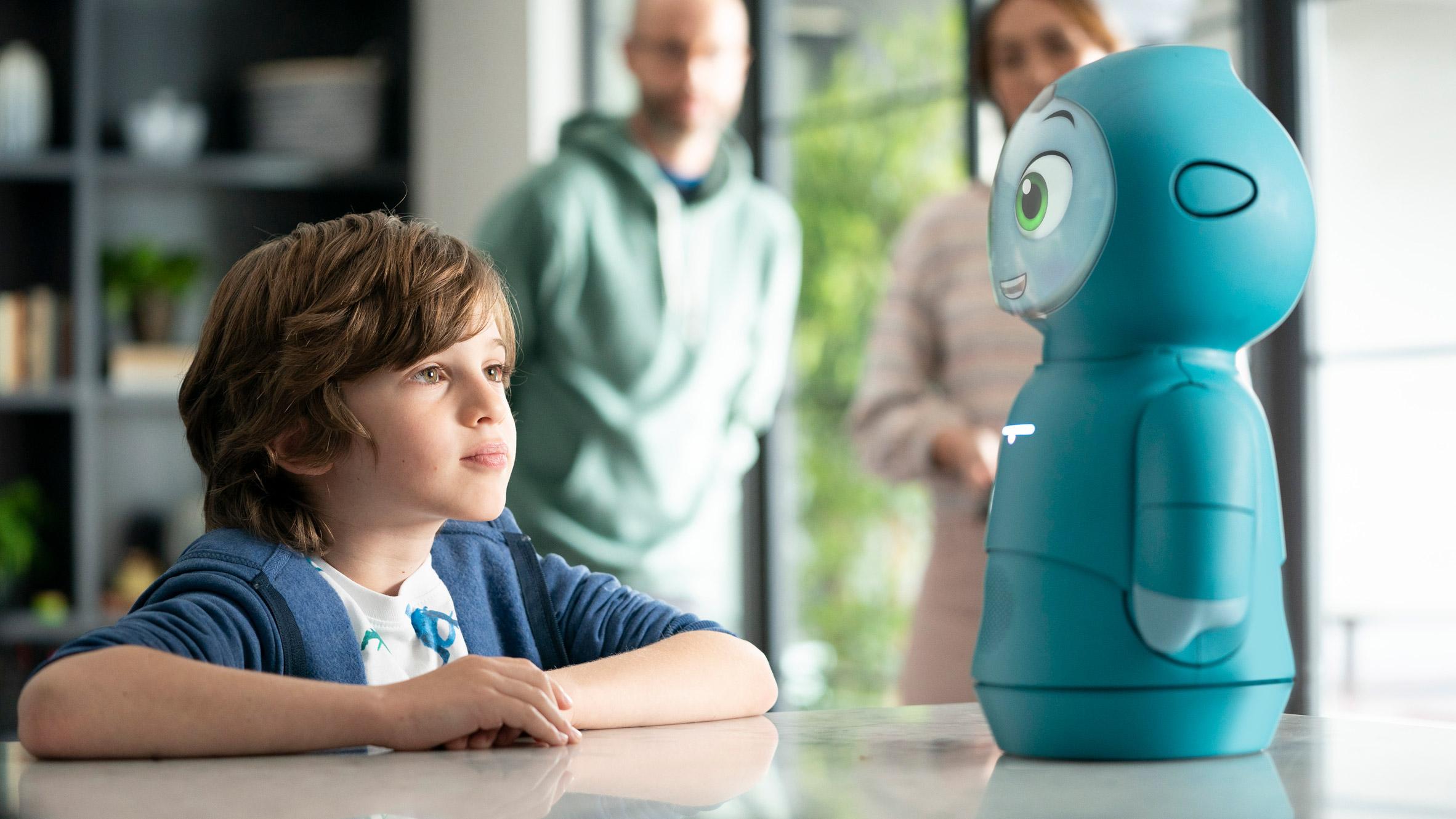 삶의 기술 가르치는 로봇친구, 목시