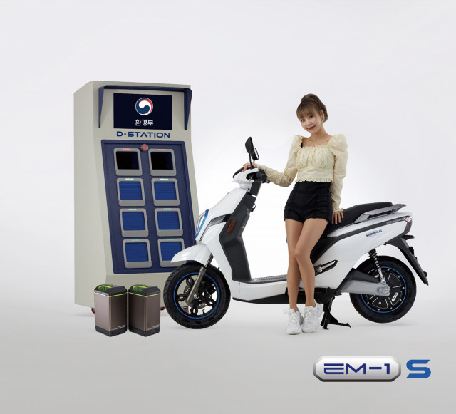 디앤에이모터스, 국산 배터리 탑재한 친환경 전기이륜차 제주 국제전기차 엑스포 전시